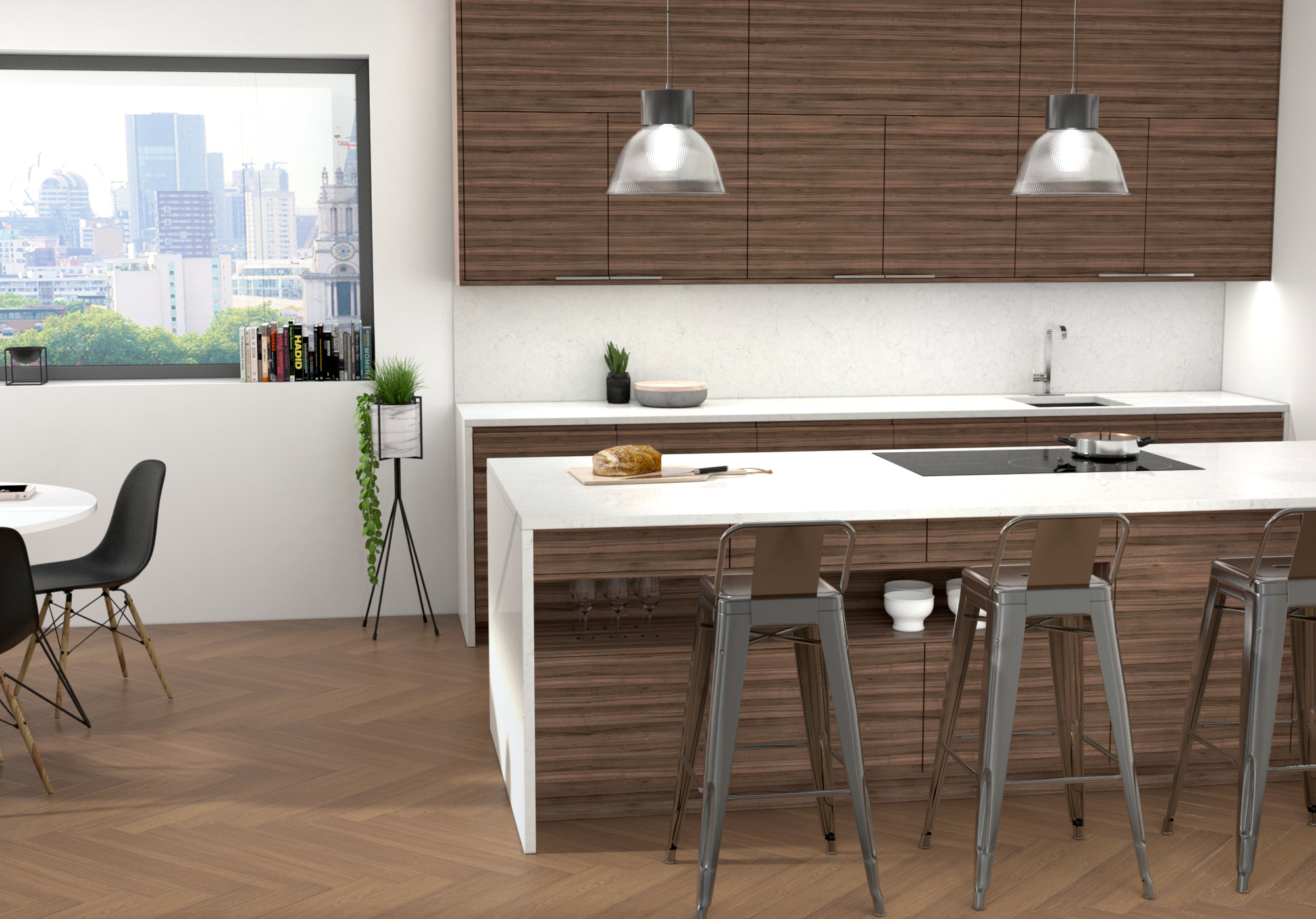 Creating The Kitchen Wow Factor With Quartz Worktops