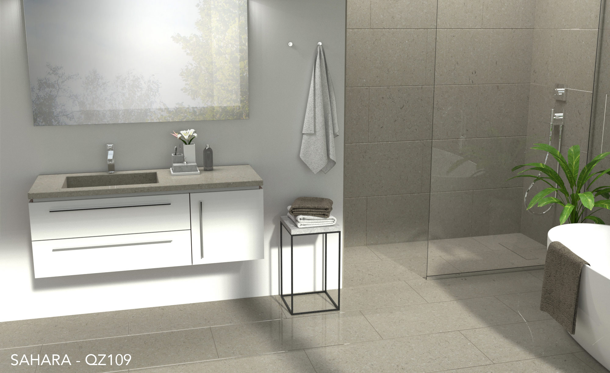 Use Of Quartz Countertops In Bathroom Design