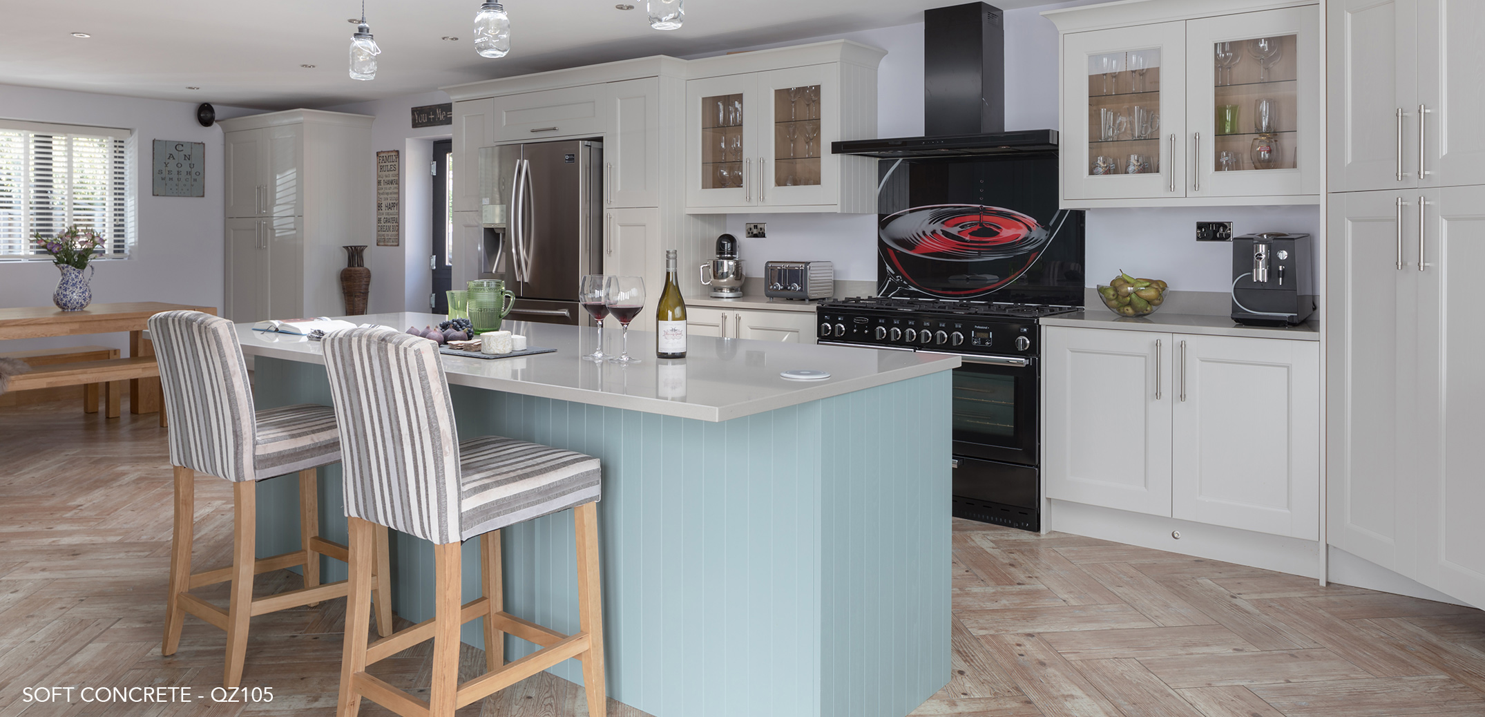 Traditional Elegance with some help from CRL Quartz