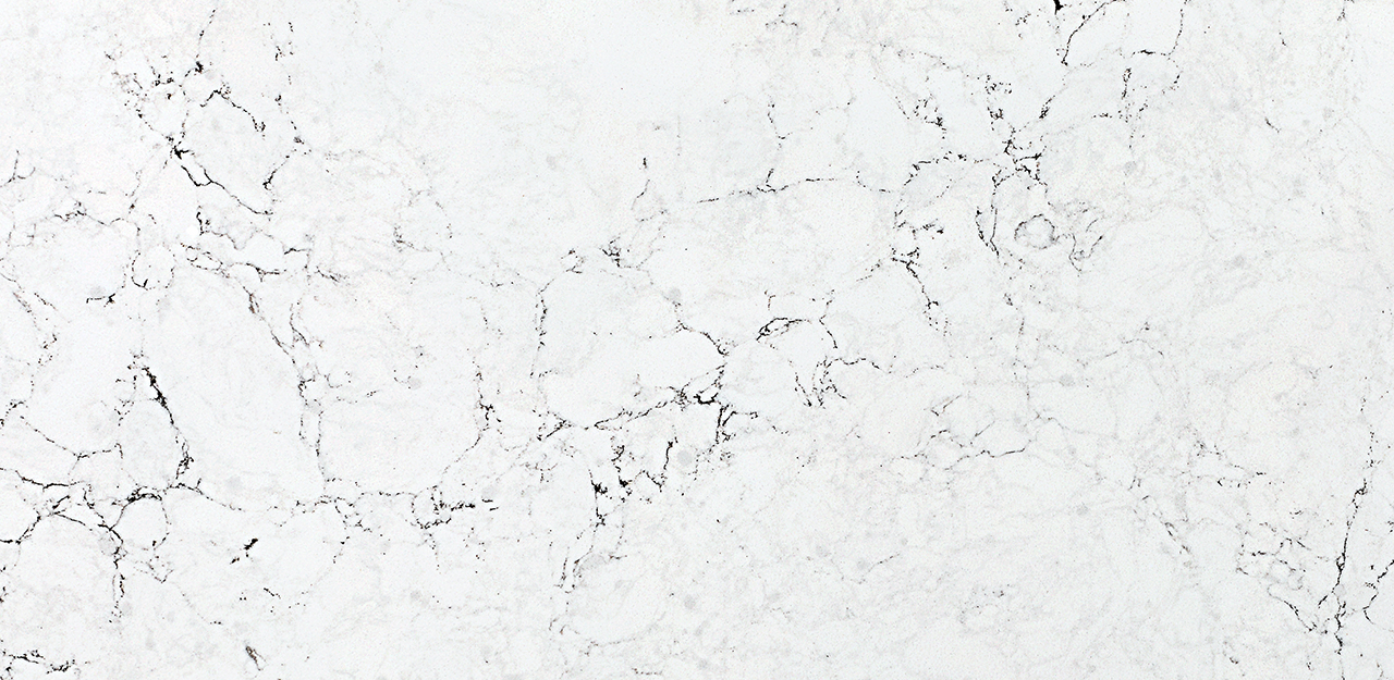 CRL Quartz Statuario Bianco close up