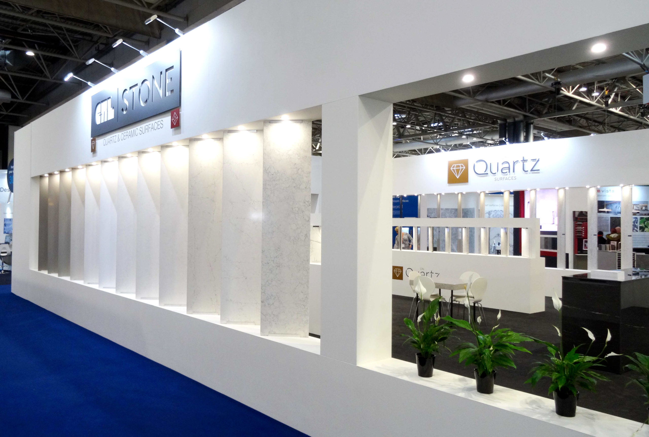 CRL Stone stand at kbb 2020